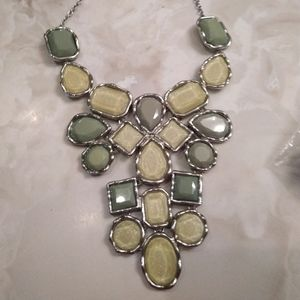 Green. Necklace
